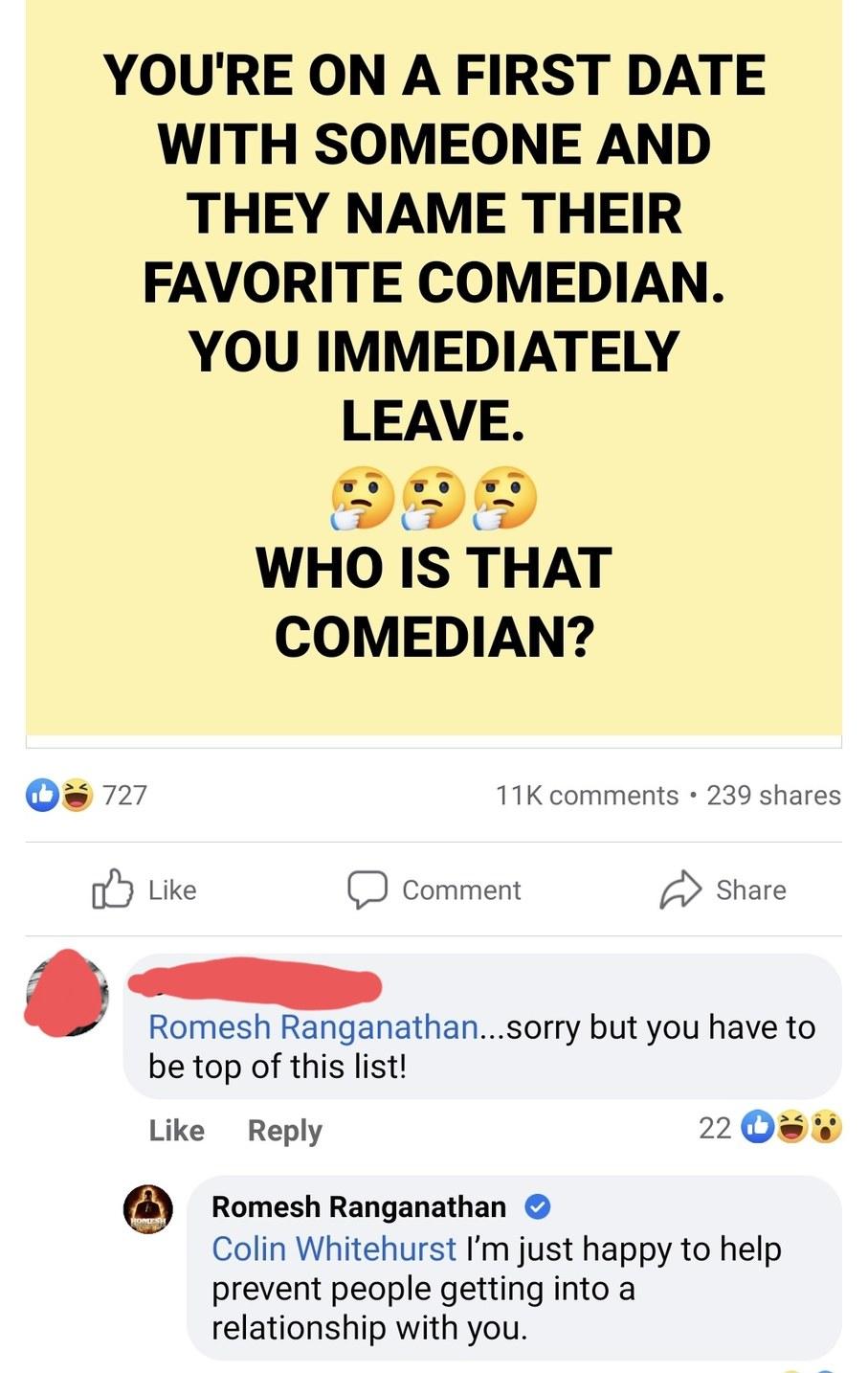 Romesh - meme