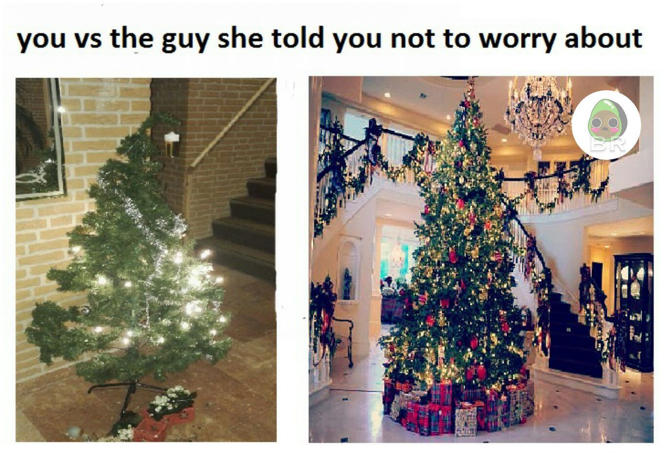 The left one really is my tree - meme