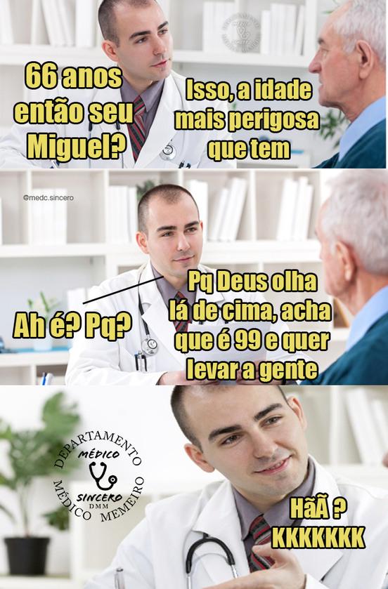 hÃã? KkKKKK - meme médico