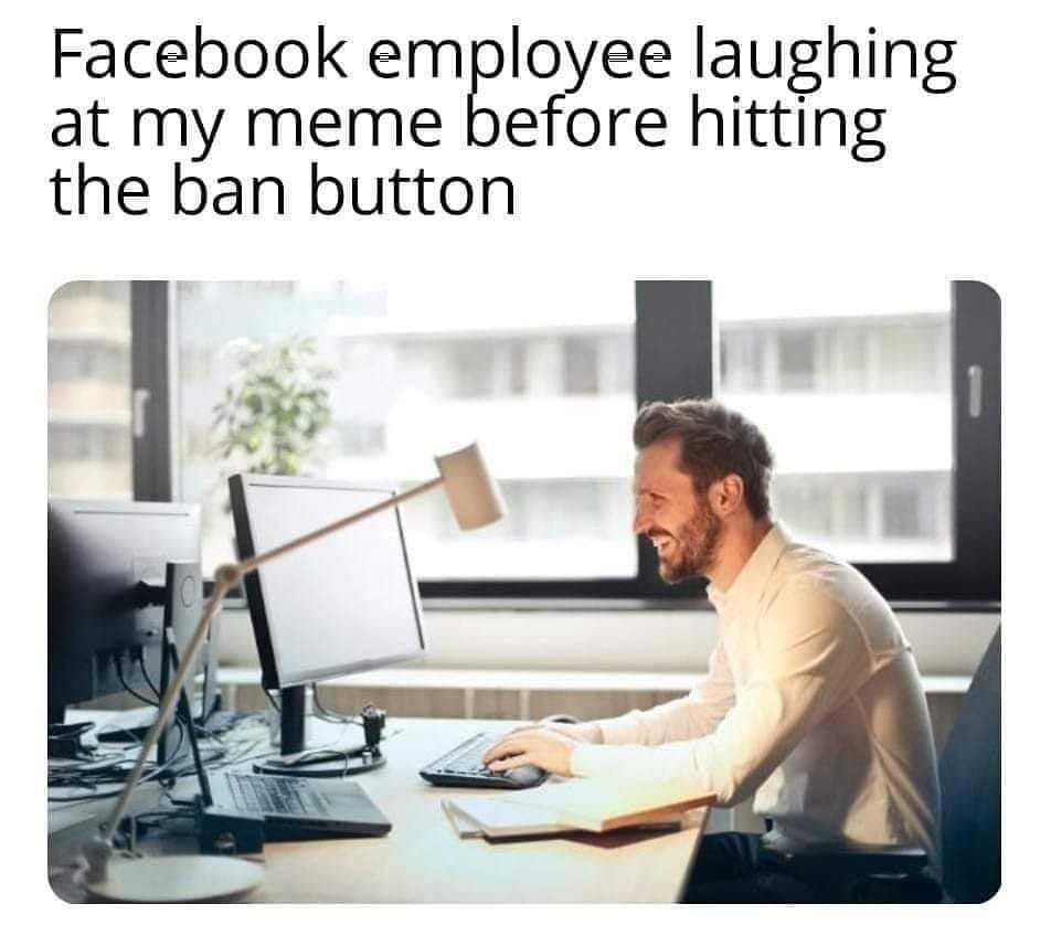 Only When Your on a Communist Site Like Facebook - meme