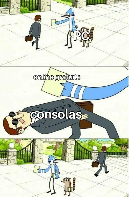 Eso hace que las consolas no las compren - meme