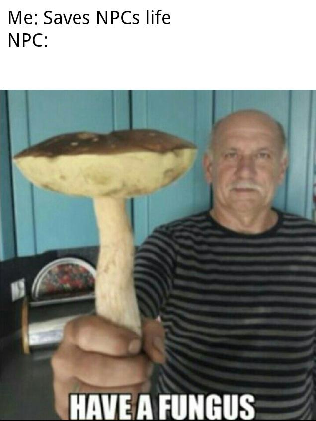 *Fungus Appears * - meme