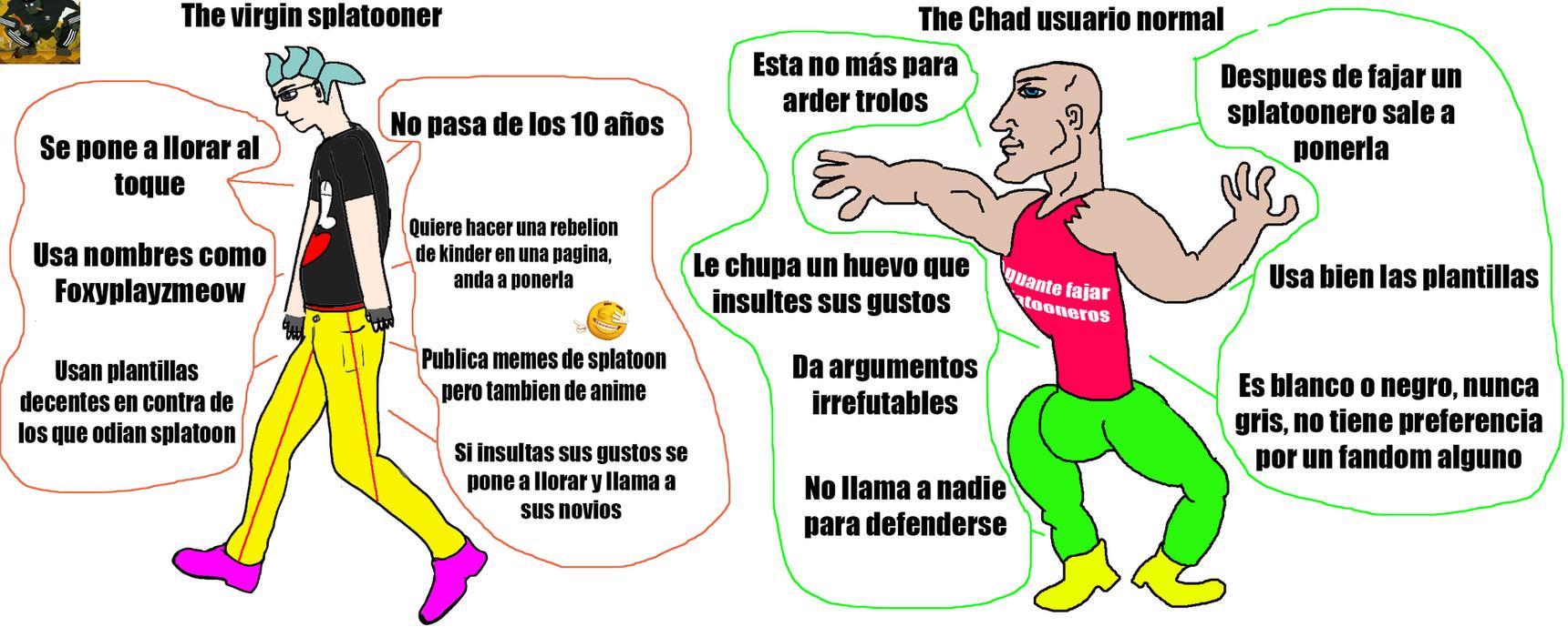 Virgin Chad - meme