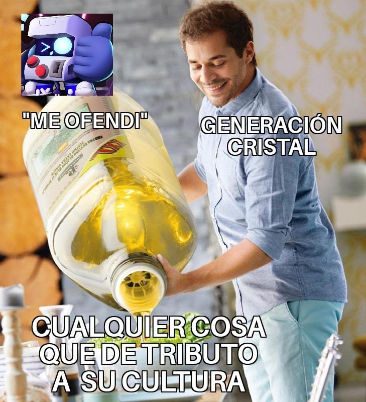 GENERACIÓN CRISTAL - meme