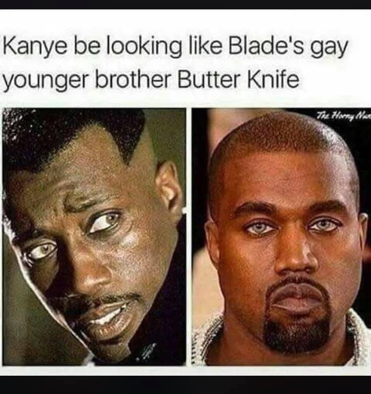 Huh.. didn't kno he had blue eyes - meme