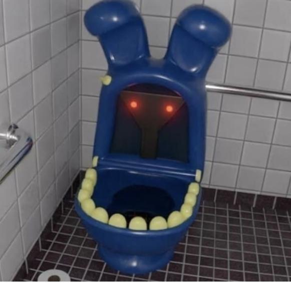 Bonnie baño - meme