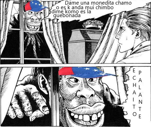 Venezuela solo exporta maldad y crímen al extranjero. - meme
