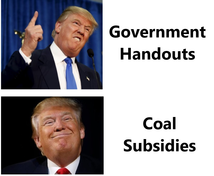 Subsidies > Welfare - meme