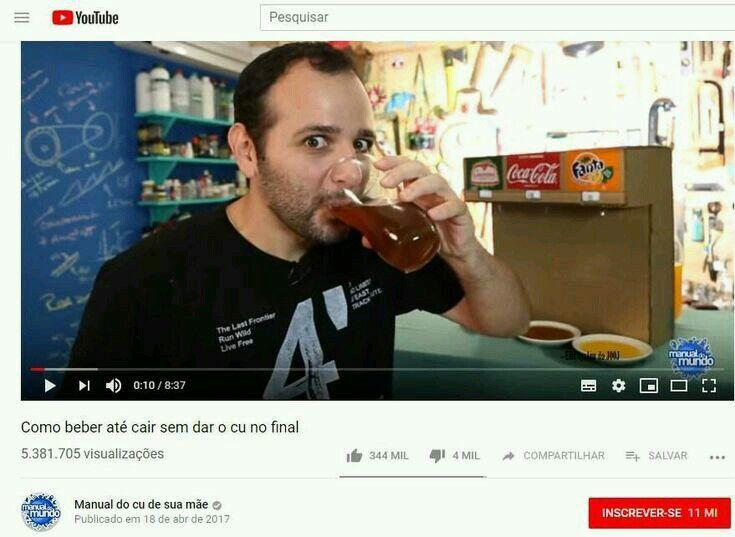 Tutorial de como não dar o cu bebado - meme