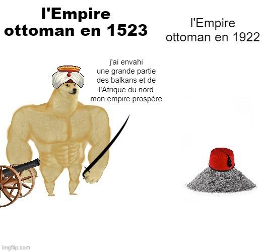F pour l'Empire ottoman - meme
