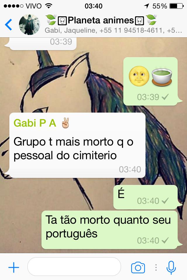 Título foi aprender português - meme
