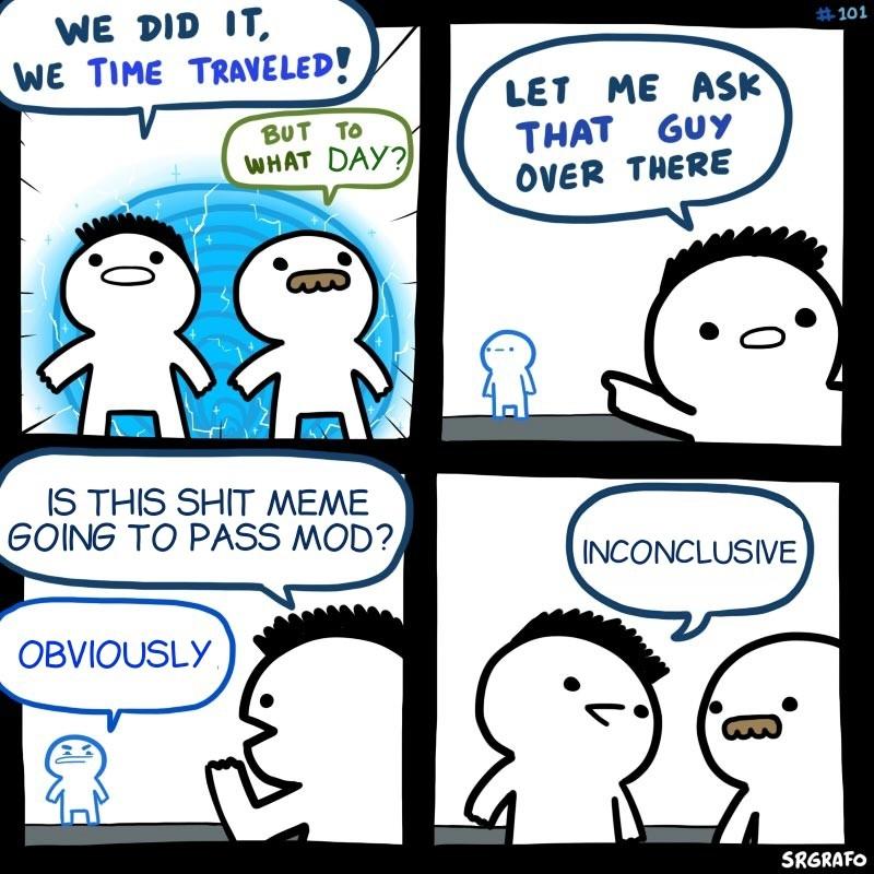 Inconclusive - meme