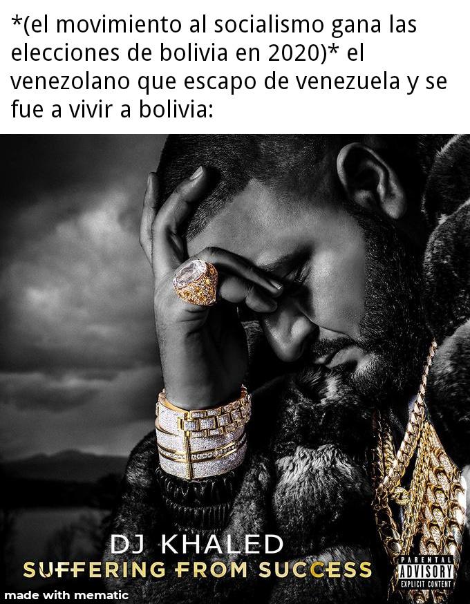 F por los bolivianos - meme