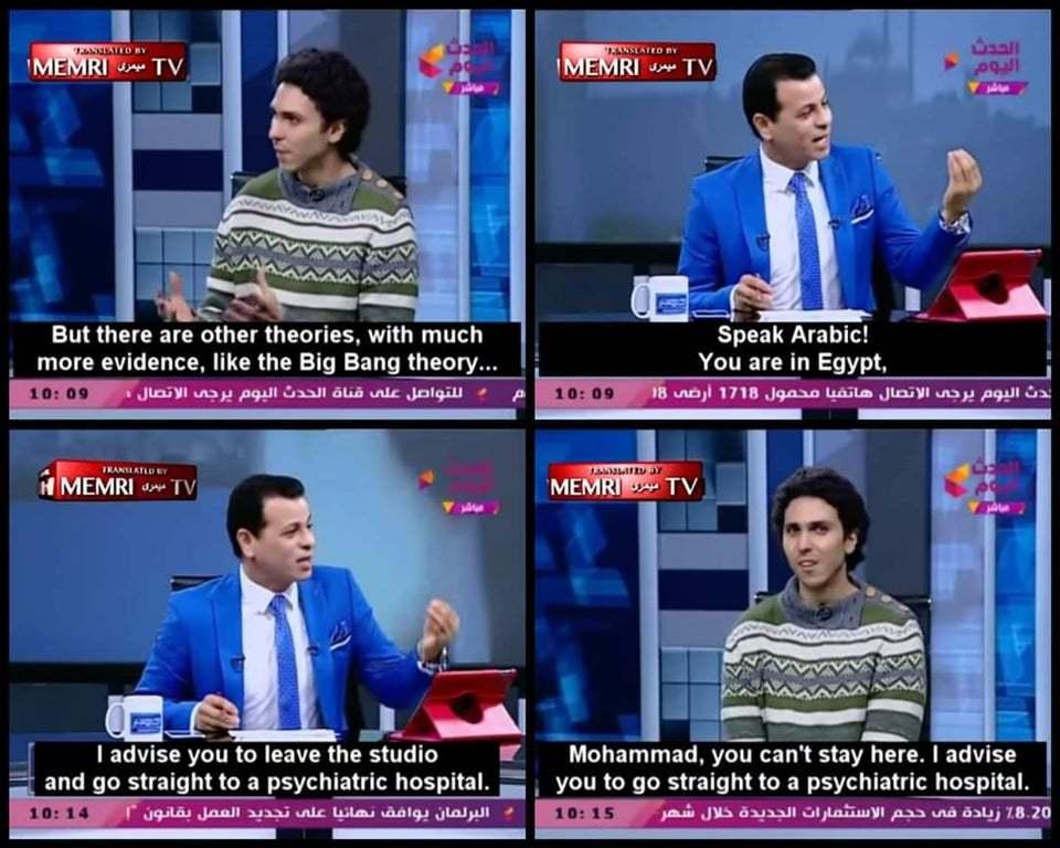 Speak Arabic for we are in Egypt - meme