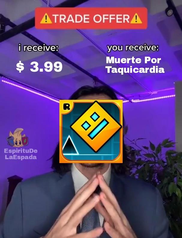 Plantilla Quemada - meme