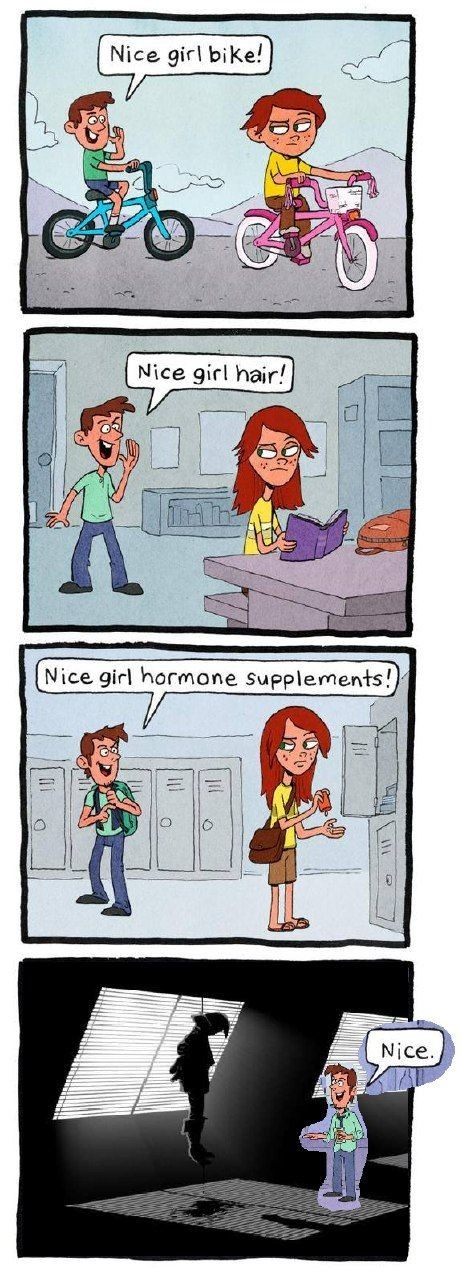 Nice girl - meme