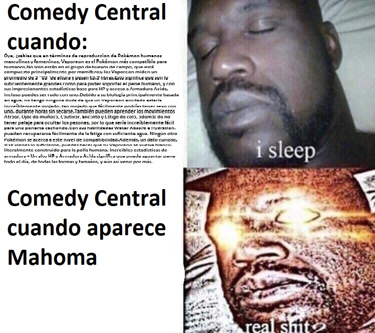 comedy central in a nutshell - meme