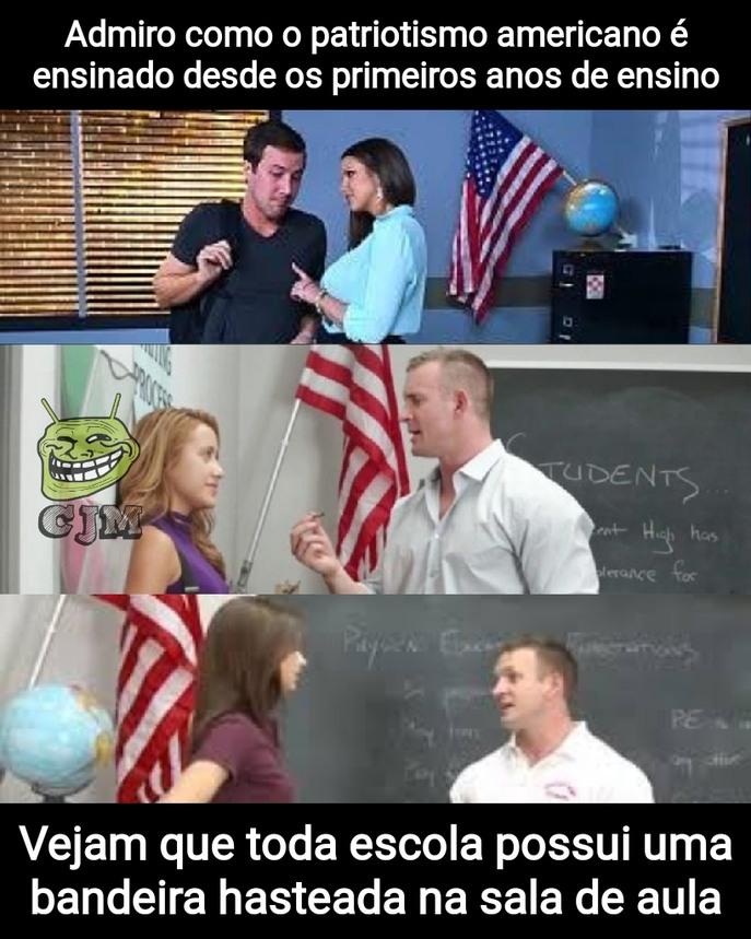Precisamos disso nas escolas brasileiras - meme