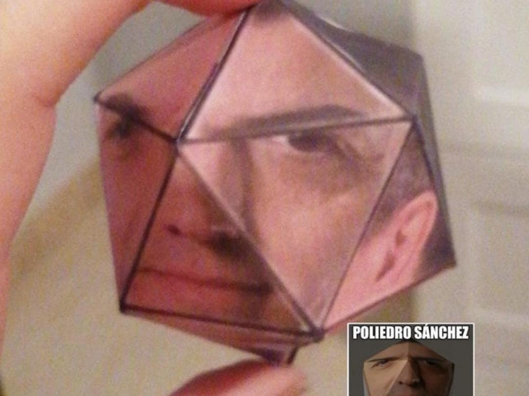 POV: POLIEDRO SANCHEZ - meme