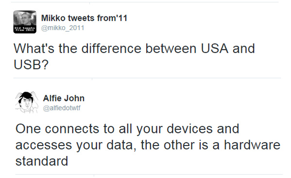 USA vs USB - meme