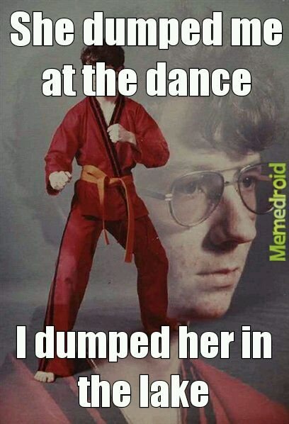 Karate Kyle meme People!