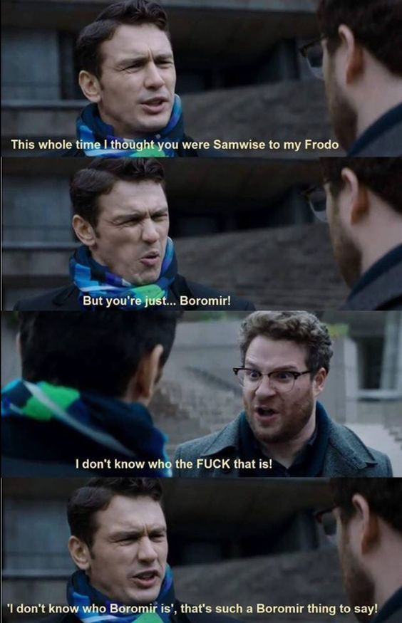Even the title is boromir - meme