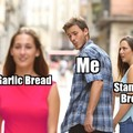 Garlic Bread meme fresh