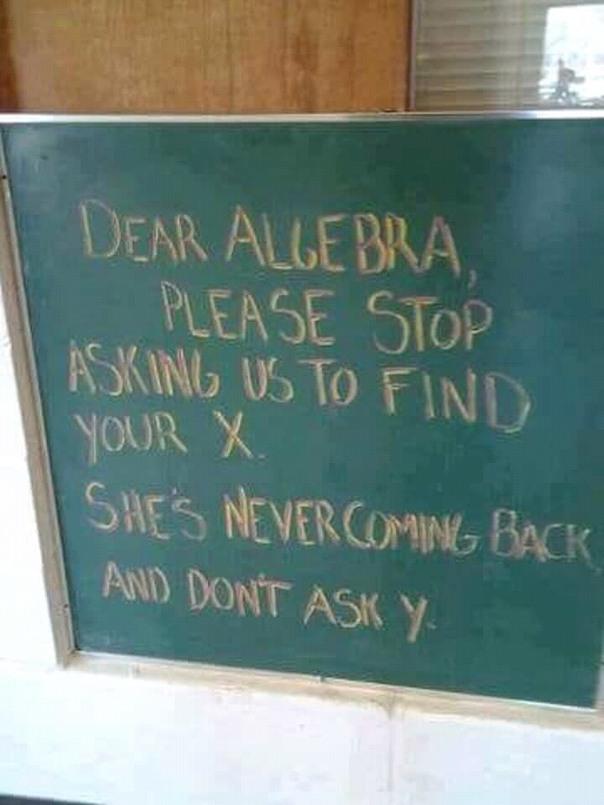 I do not like maths no more - meme
