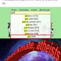 Expliquem essa ateus