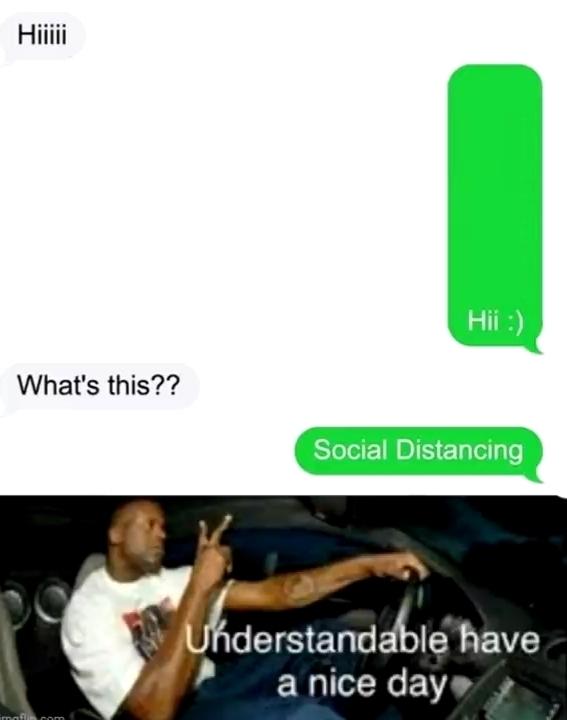 Understandable. - meme