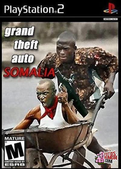 GTA Somalia - meme