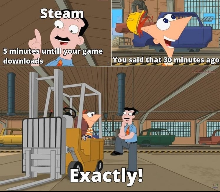 steam - meme