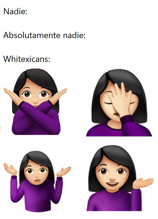Emojis innecesarios para gente innecesaria - meme