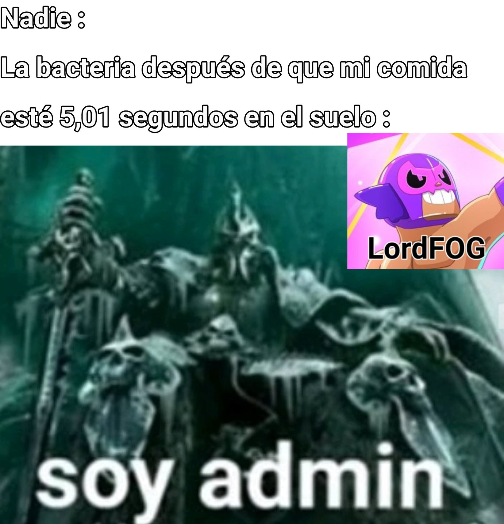 Es el admin - meme