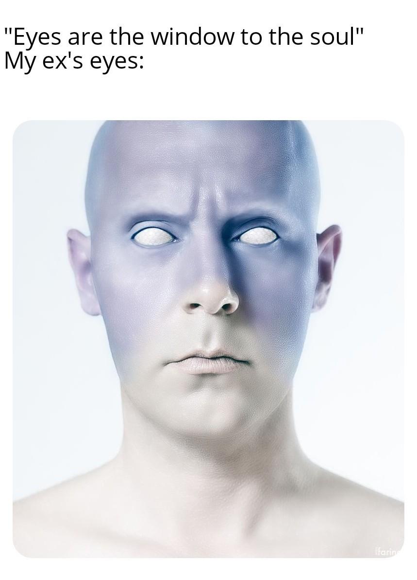 Look me in the eyes - meme
