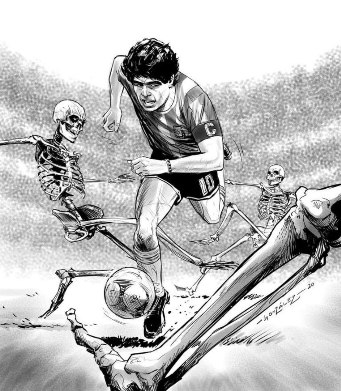 Maradona vs Venezuela - meme