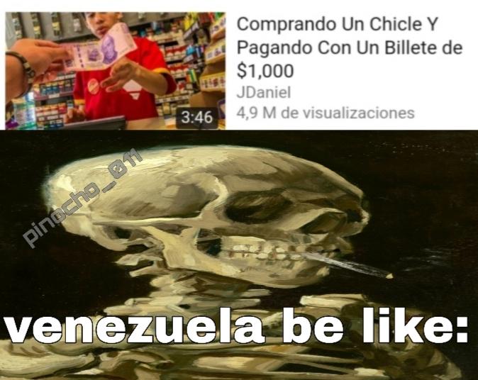 f por venezuela - meme