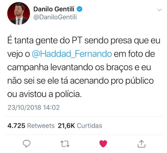 Danilo nem sempre sendo gentili - meme