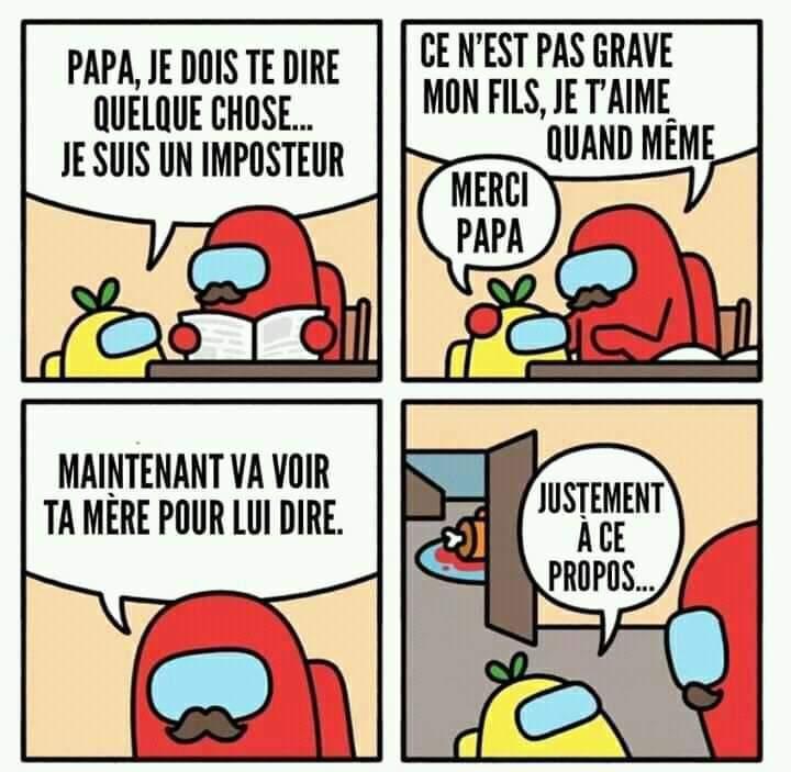 Encore du among us !! Ça suffit - meme
