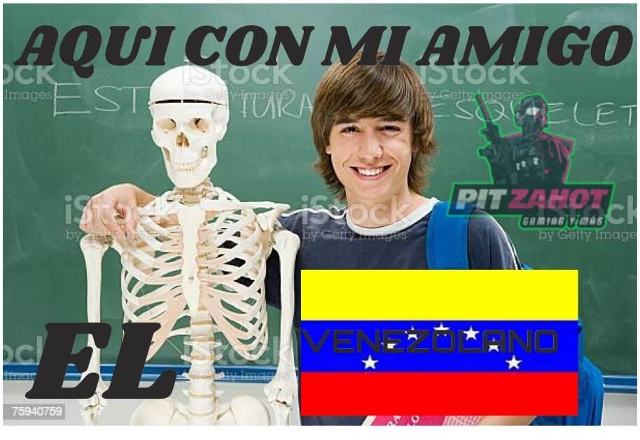 VENEZOLANO  ≠  VESOENELANO - meme