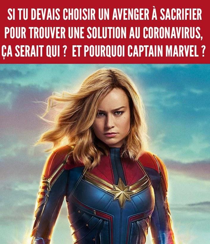 Ouais pourquoi captain marvel - meme