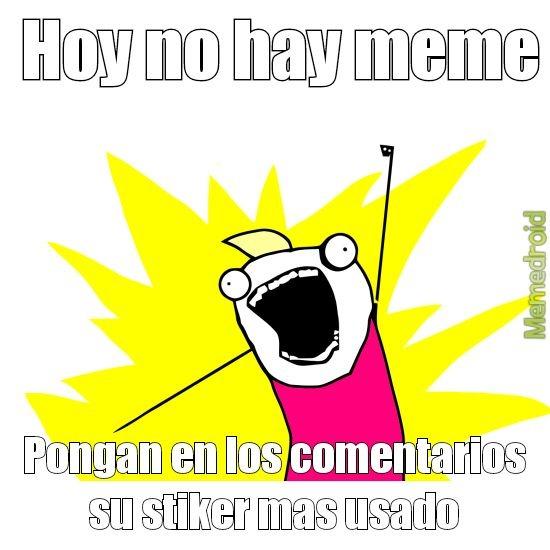 No hay meme