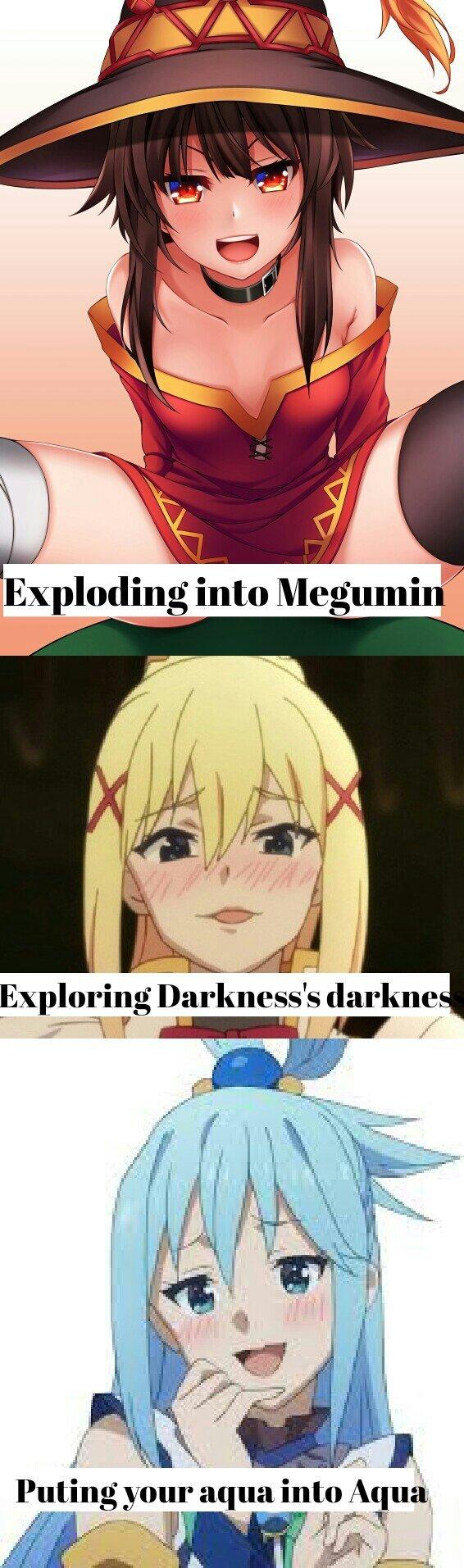 Megumin best girl - meme