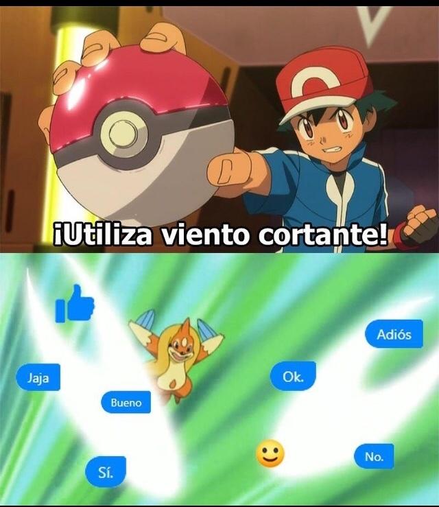 Ese ash:( - meme