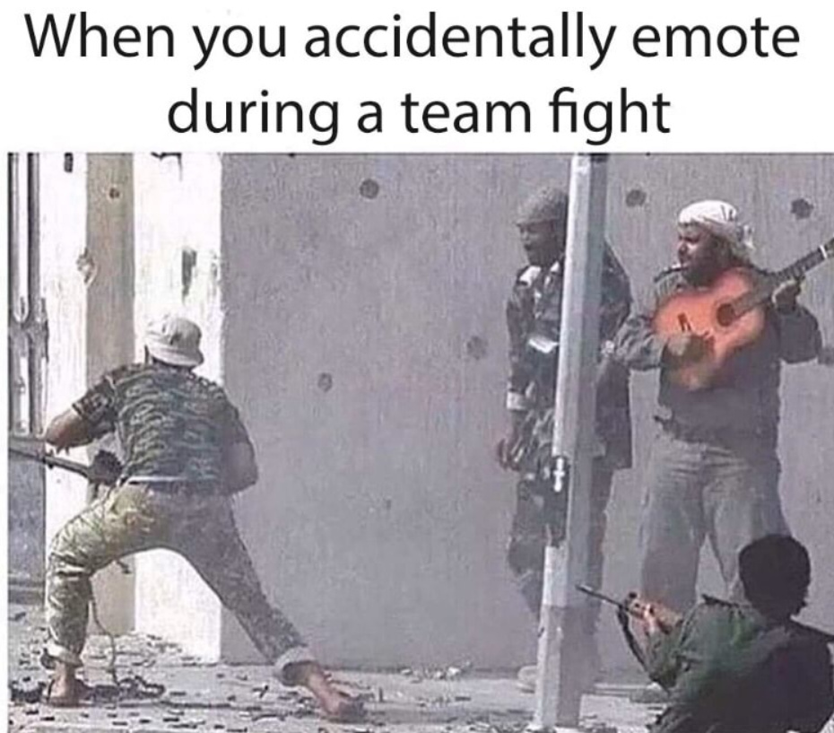 Comment favorite emote from any game! - meme