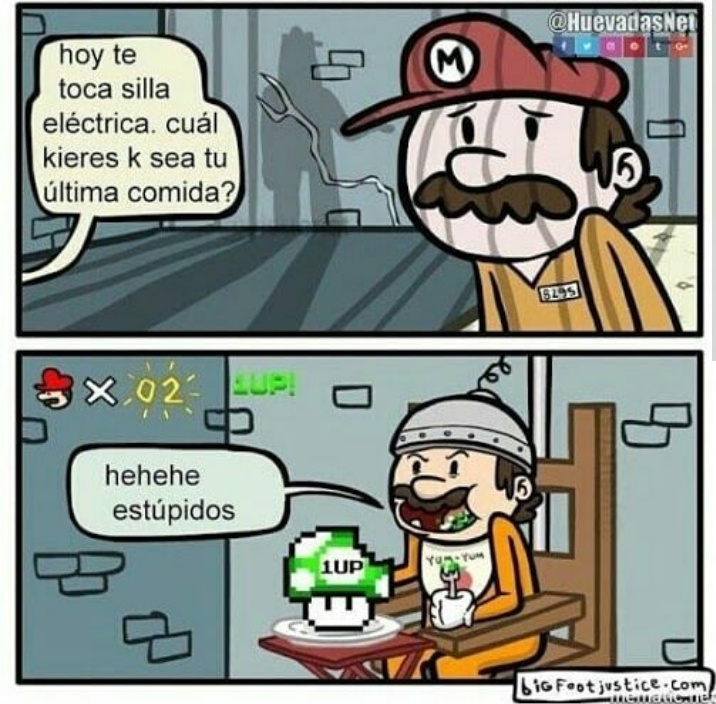 Mario troll - meme