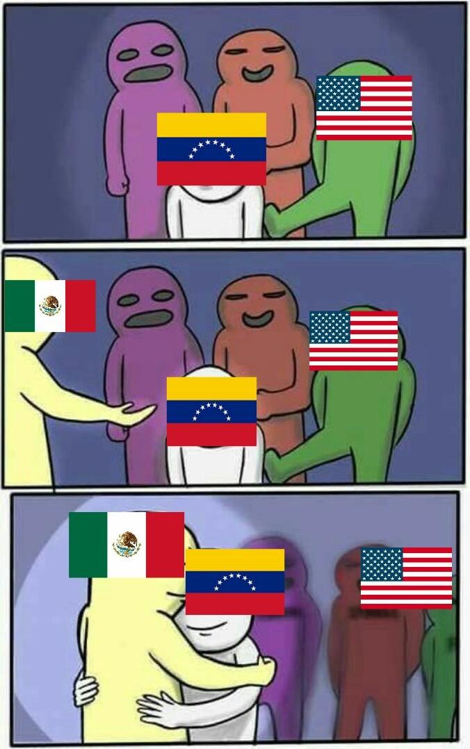 México no seas pendejo y deja a USA quieto segundo aviso - meme