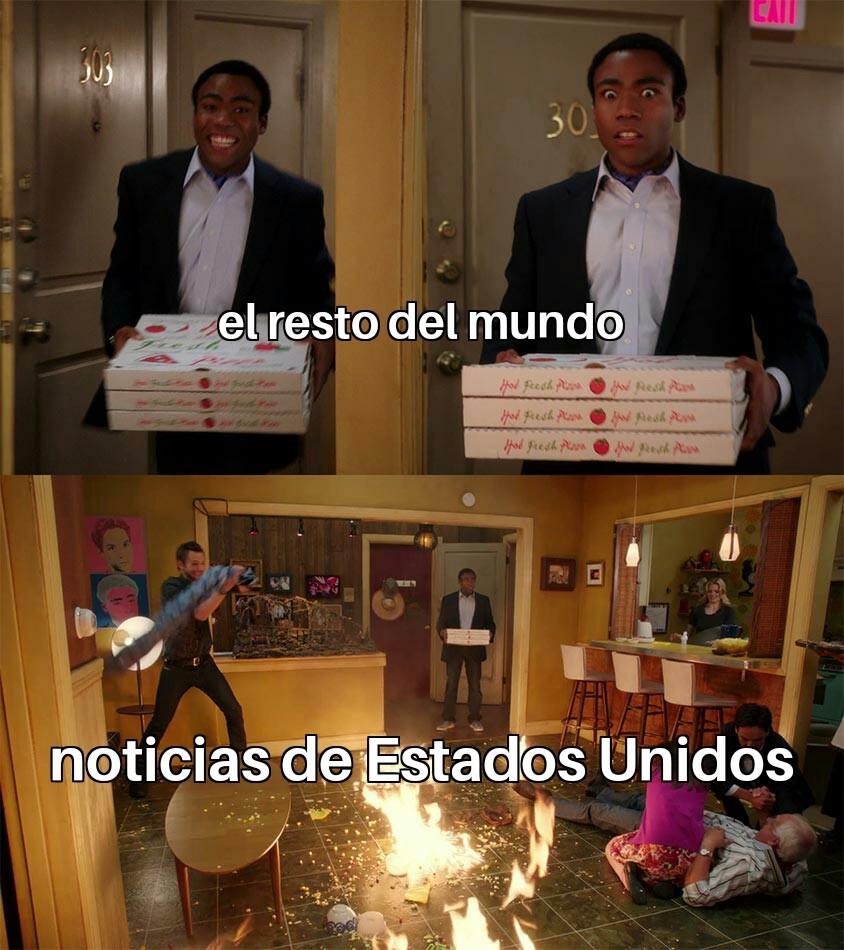 Gringolandia y sus problemas - meme