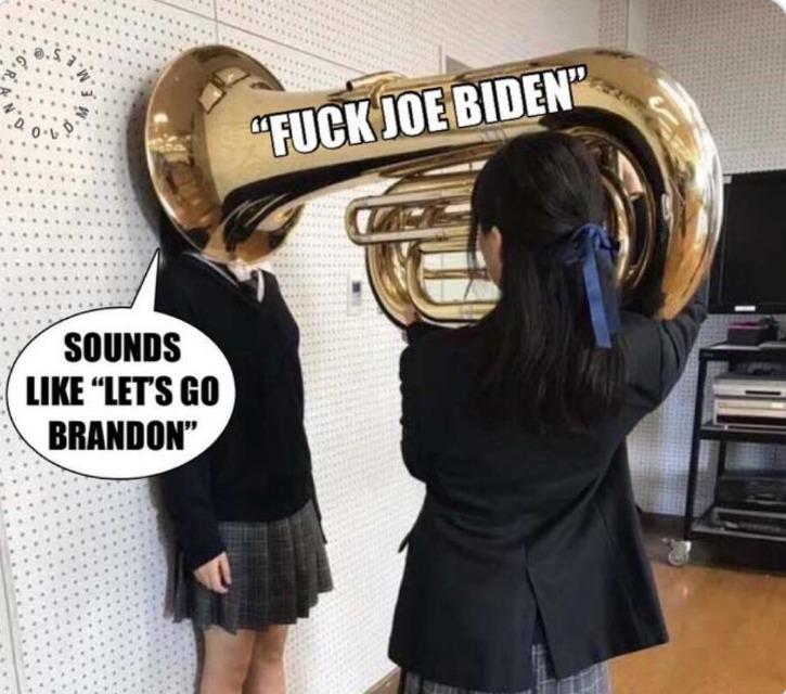 Let's go Brandon! - meme
