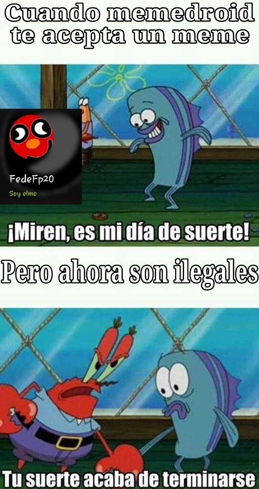 Los memes son ilegales, mierda